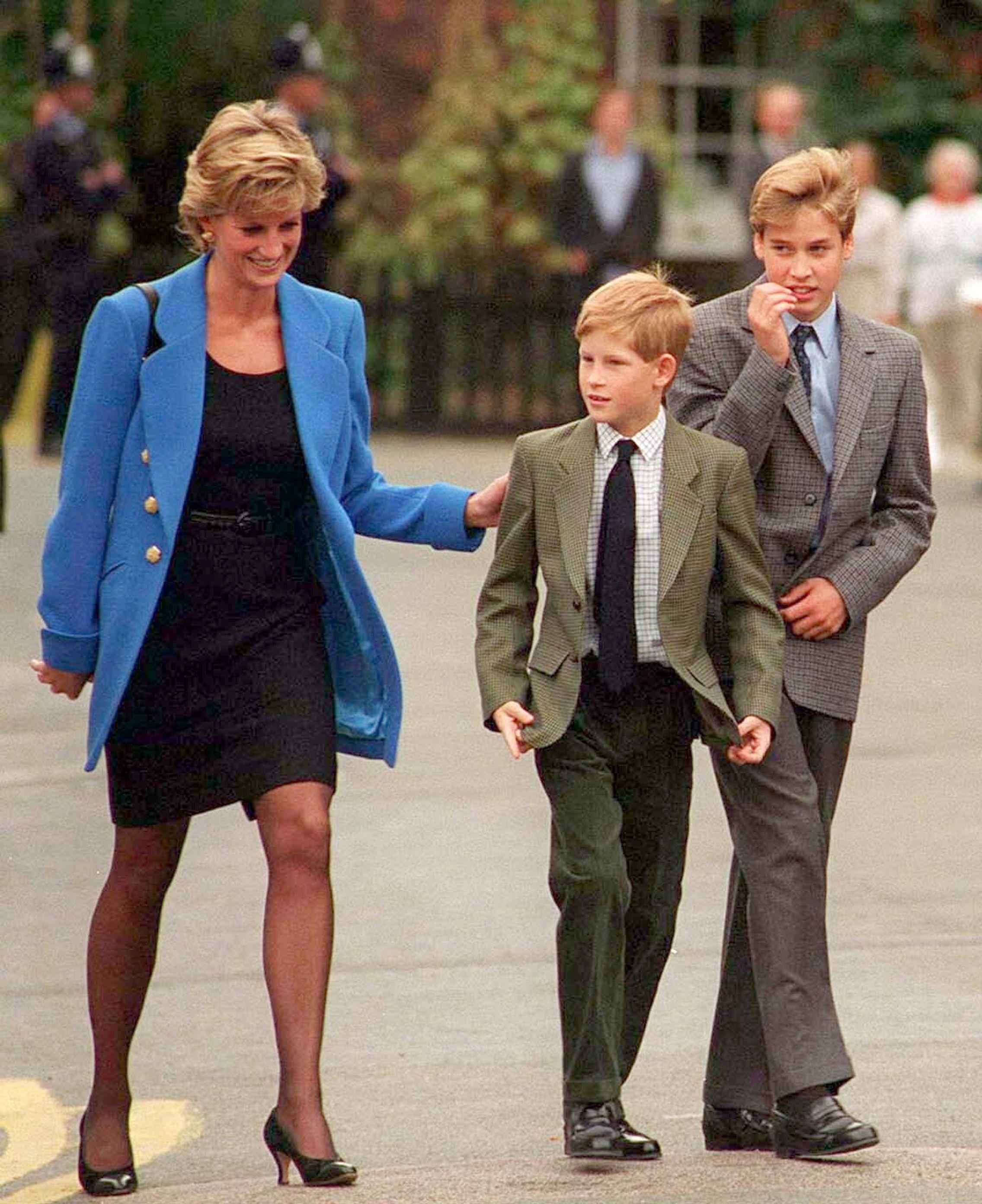 Princes Harry & William on Princess Diana's Birthday & Baby Archie
