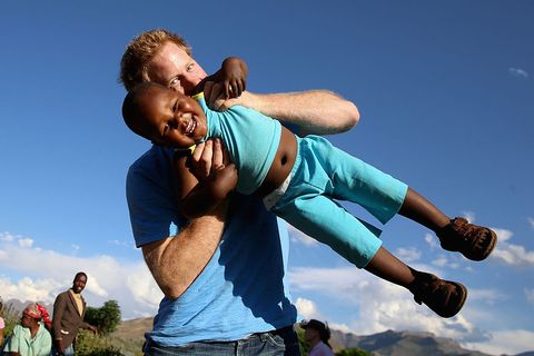 prince harry sentebale charity