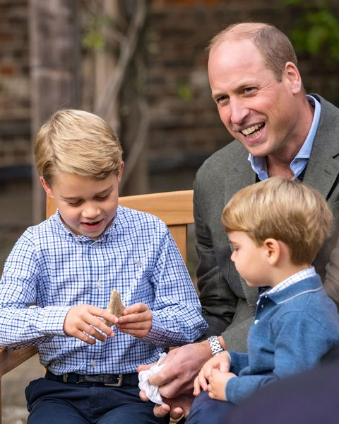 prince william kate middleton share photo of george charlotte louis with david attenborough prince william kate middleton share