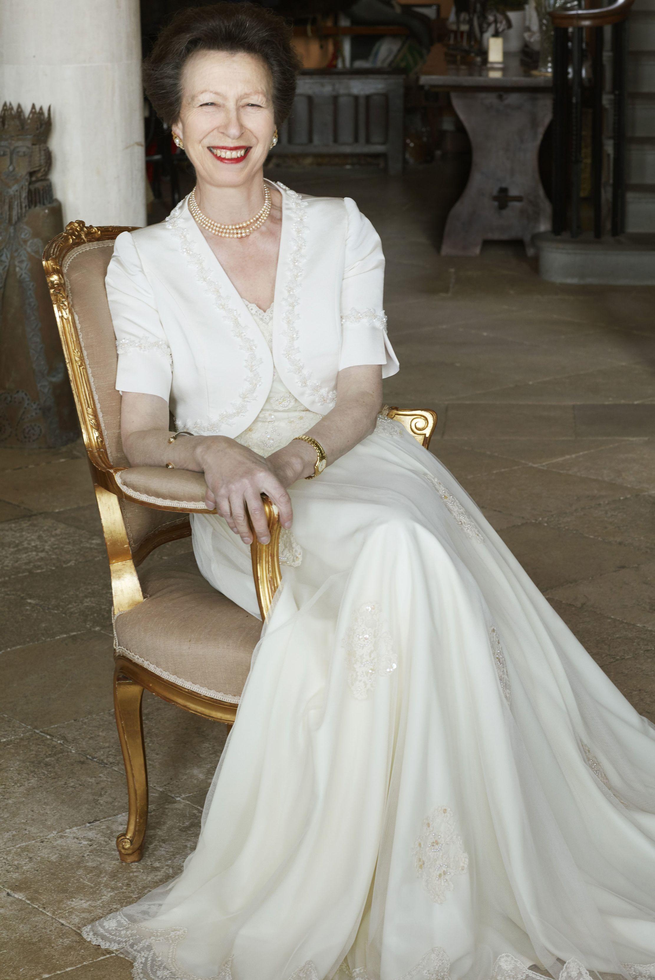 La Princesa Ana De Inglaterra Cumple 70 Anos