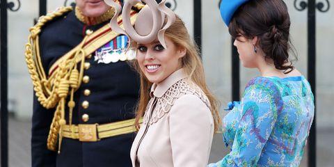 Princesa Beatriz y princesa Eugenia