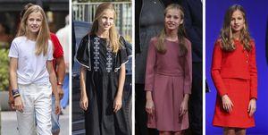 Princesa Leonor: Así ha evolucionado su estilo en el 2019