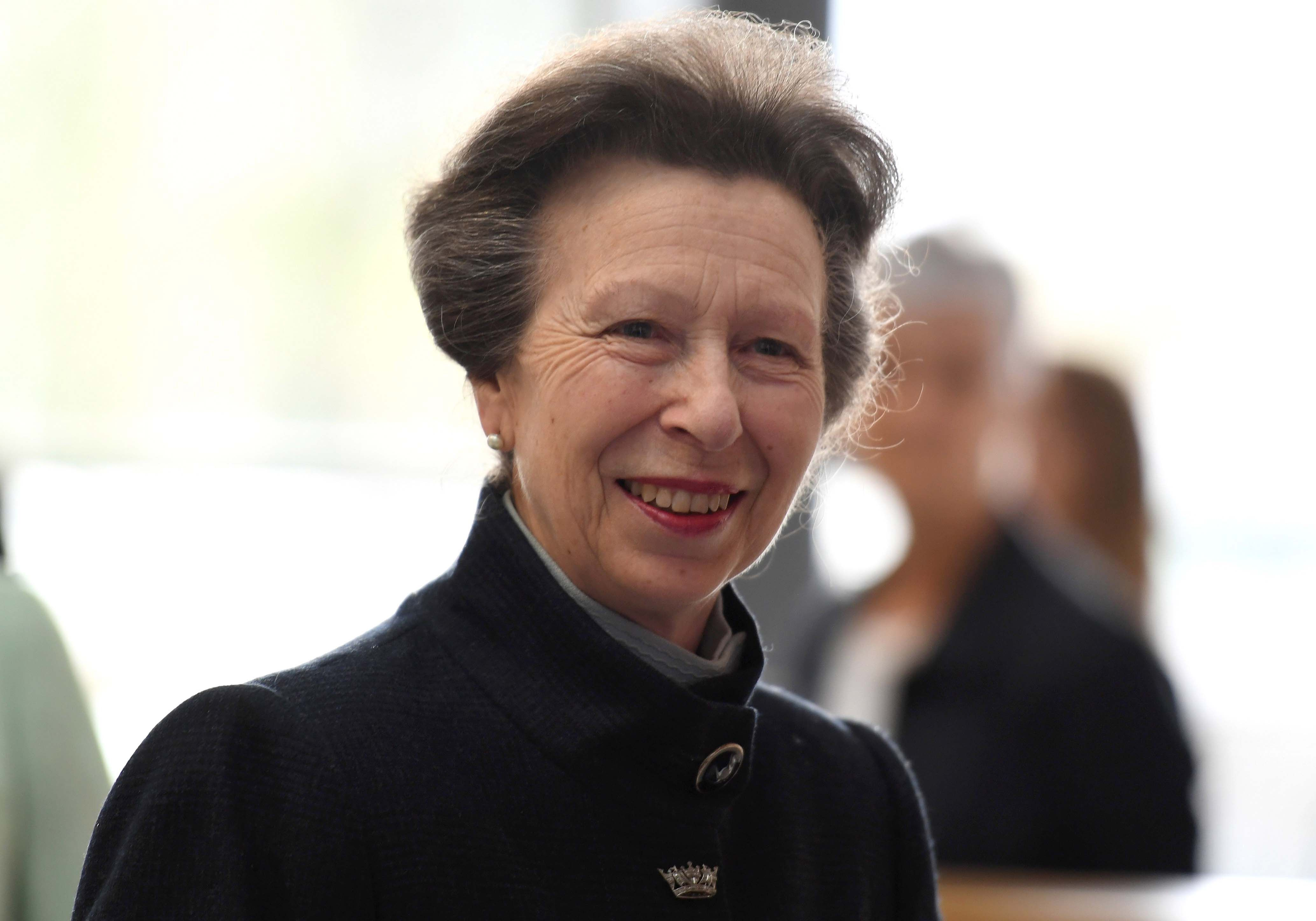 Princess Anne comments on The Crown