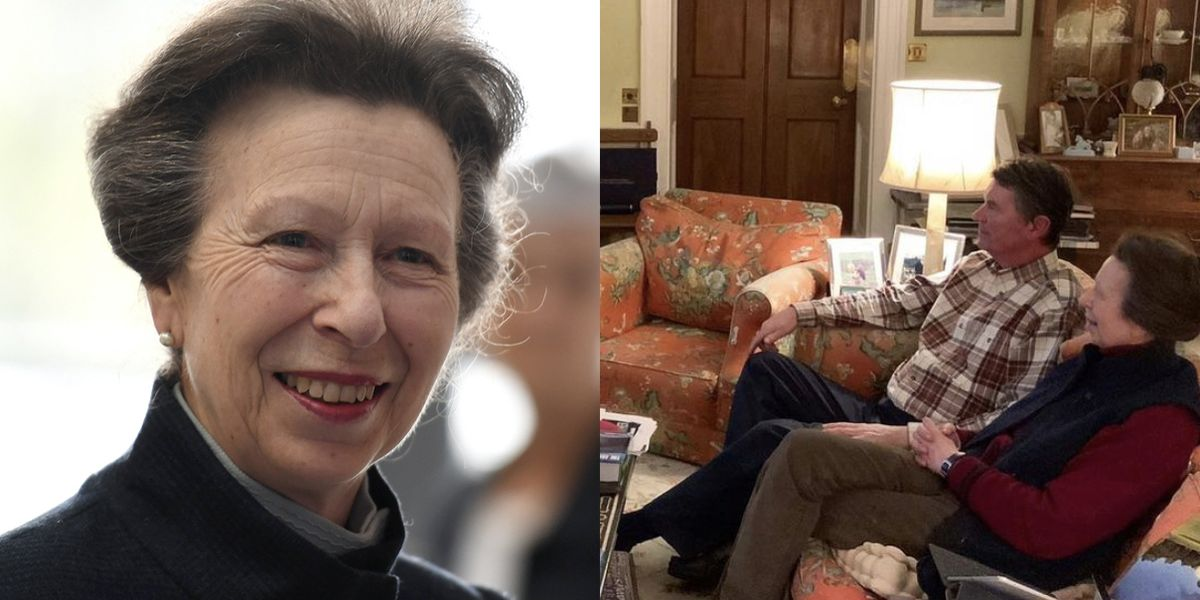 Princess Anne Just Gave Fans a Rare Glimpse Inside Her Home with Husband Sir Timothy Laurence - HarpersBAZAAR.com