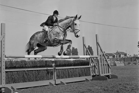 princess anne at crookham horse trials