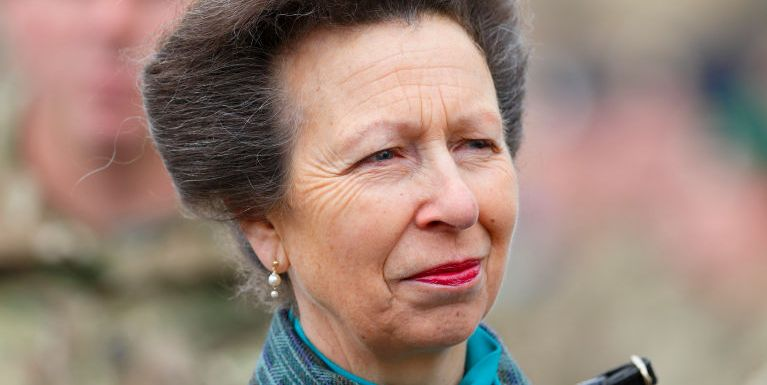 Princess Anne visited three hospitals in one day to thank NHS staff and open a memorial garden