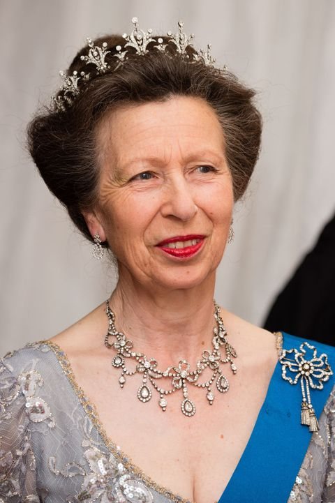 25 Photos of Princess Anne's Best Jewelry & Tiara Moments