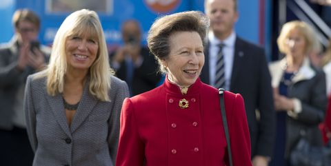 Princess Anne Visits Tenovus Cancer Care In Cardiff