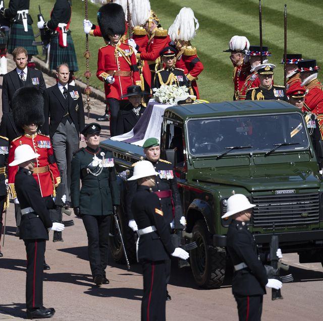 フィリップ殿下、葬儀