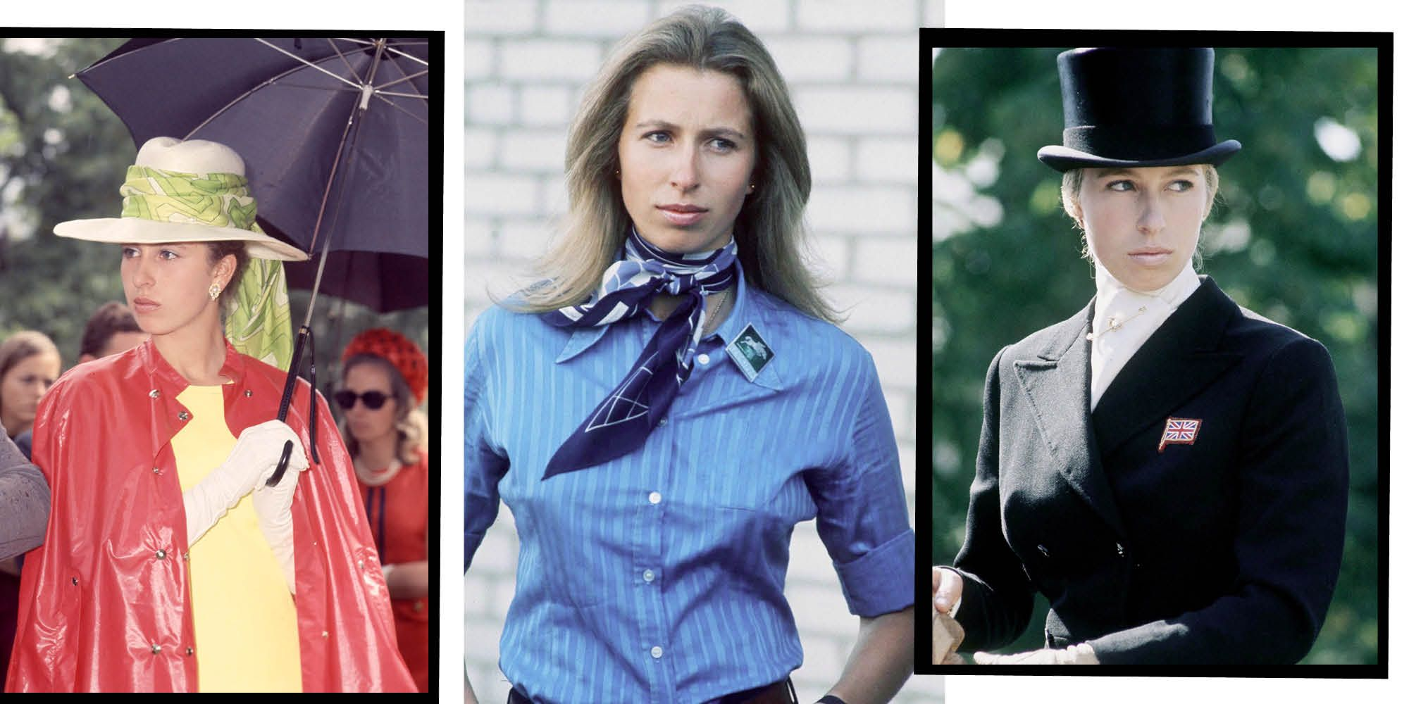 Princess Anne's Style Evolution: From Royal Baby To Princess Royal