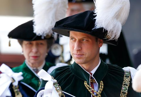 Royals Attend Order of the Thistle Service In Edinburgh