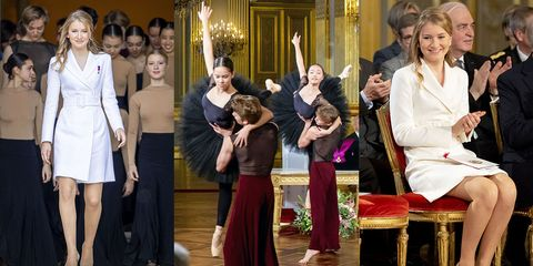 Princess Elisabeth Of Belgium Celebrates Her 18th Anniversary At The Royal Palace In Brussels