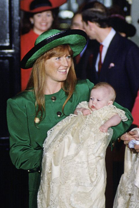 Sarah And Beatrice Christening