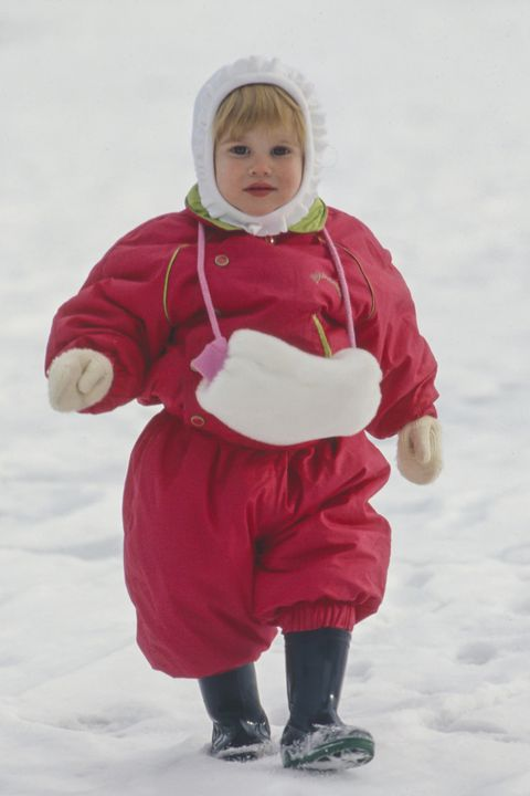 Princess Beatrice on a Skiing holiday in Klosters, Switzerland
