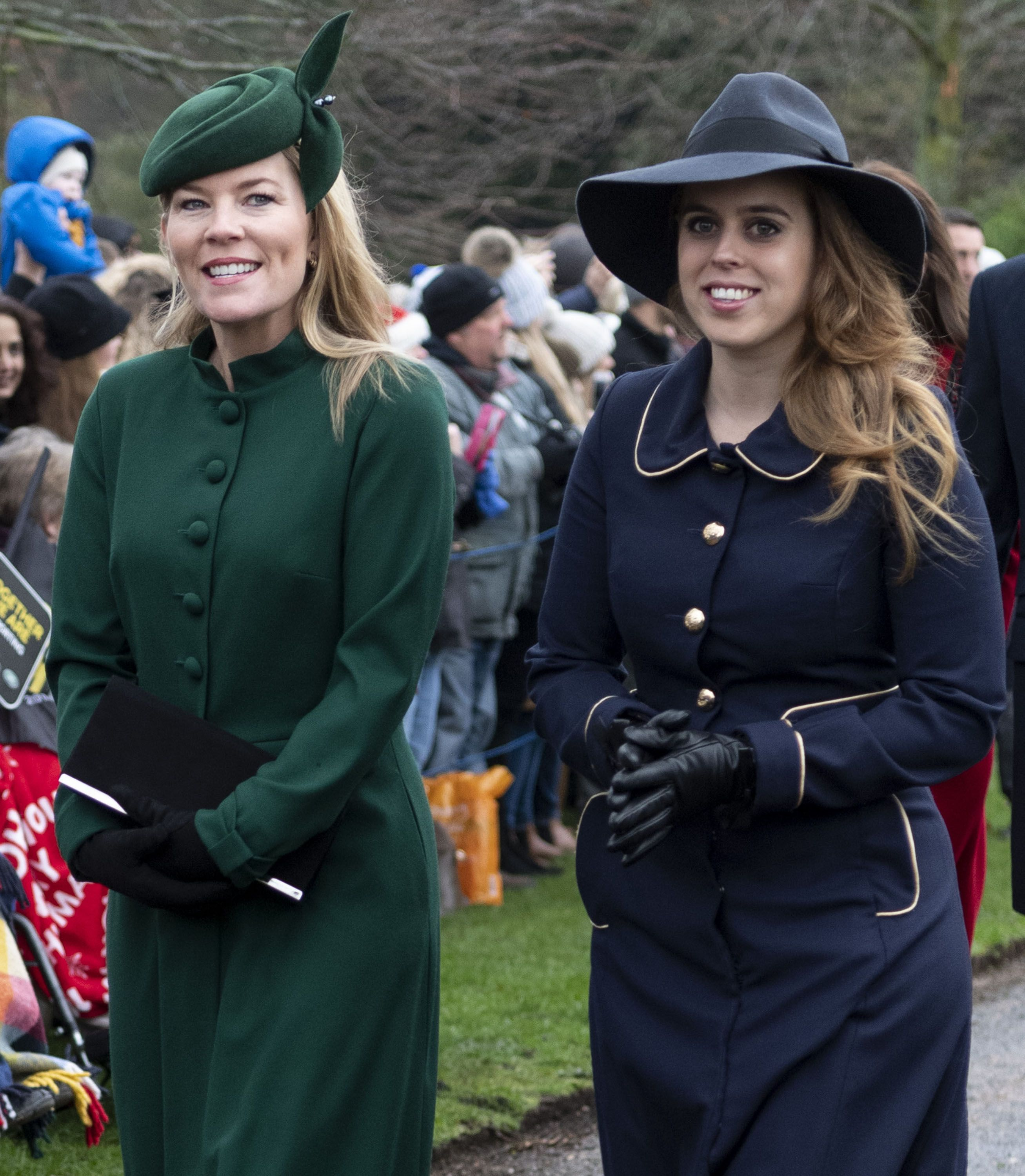6ce1117d4969 Princess Beatrice's Christmas Church Outfit Is the Epitome of Chic