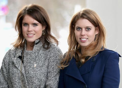 Princess Beatrice And Princess Eugenie Of York Visit Hanover During The GREAT Britain MINI Tour