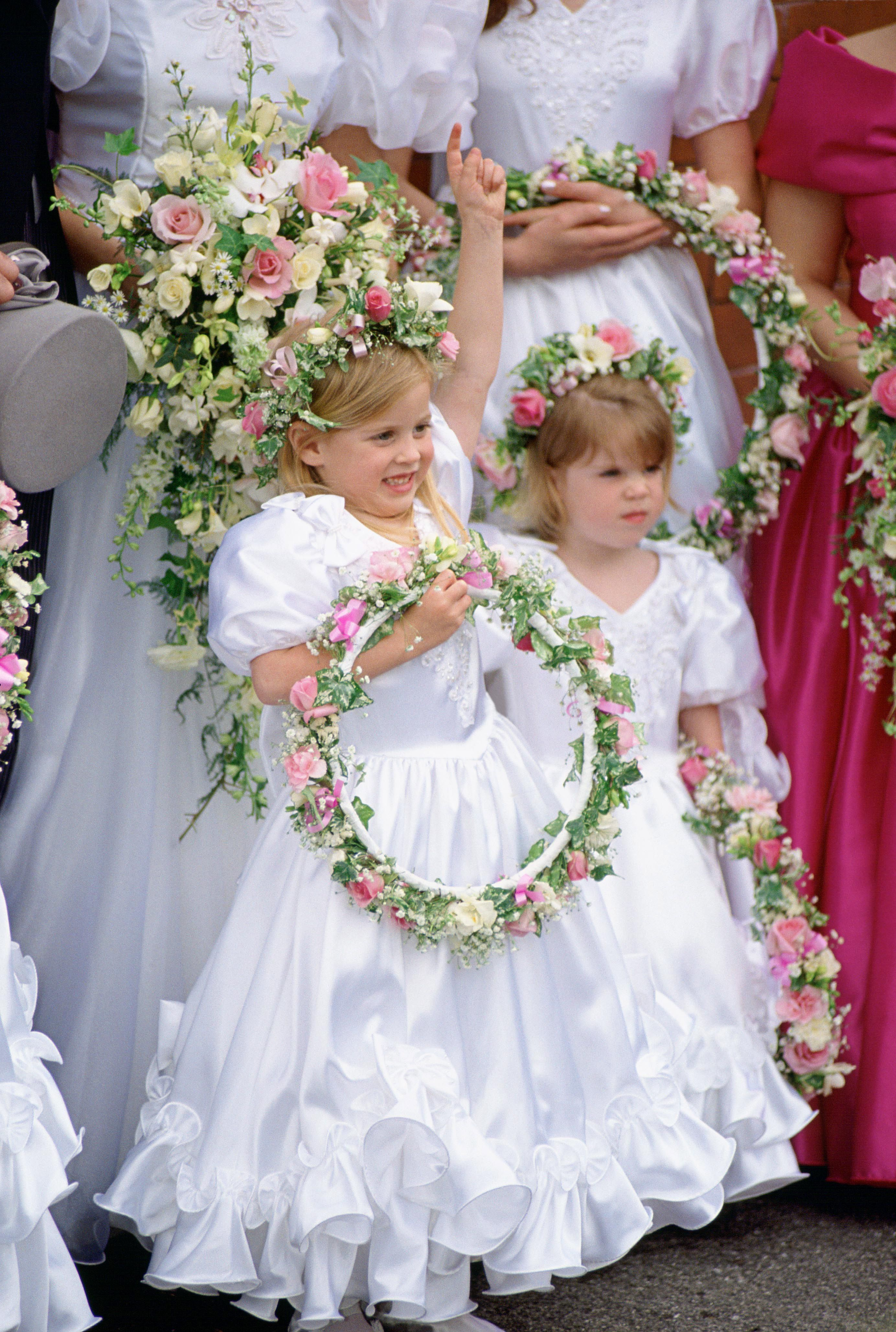 Throwback Photos of Princesses Eugenie and Beatrice