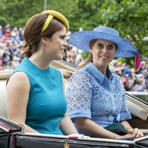 Princess Beatrice and Princess Eugenie Color-Coordinate for Royal Ascot 2019