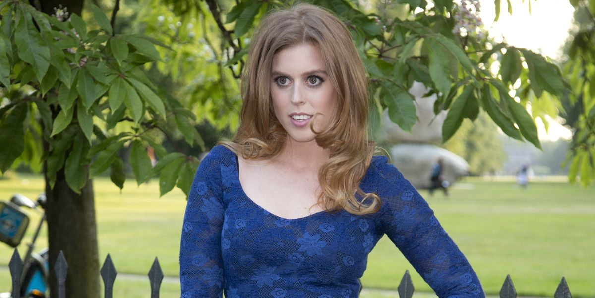 Princess Beatrice Looks Stunning in a New, Never-Before-Seen Portrait