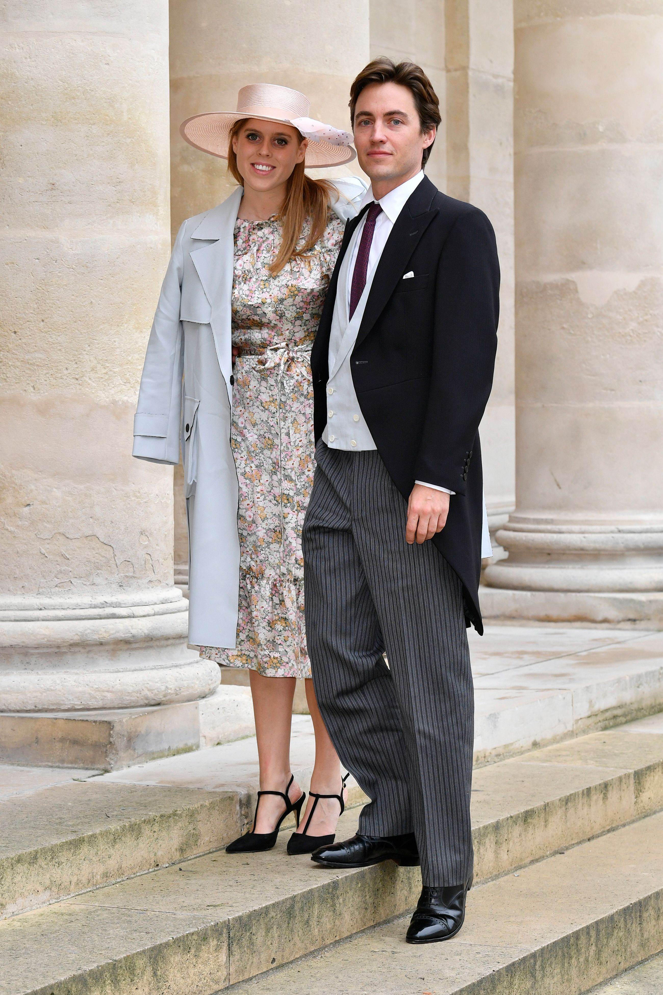 Princess Beatrice and Fiancé Edoardo Mapelli Mozzi Just Attended a Royal Wedding in Paris