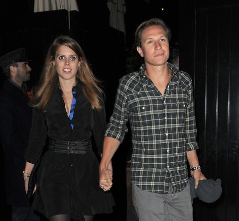 Princess Beatrice And Dave Clark At The Chiltern Firehouse