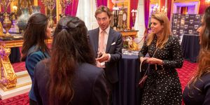 Prince Andrew, Duke of York Hosts Pitch@Palace Event