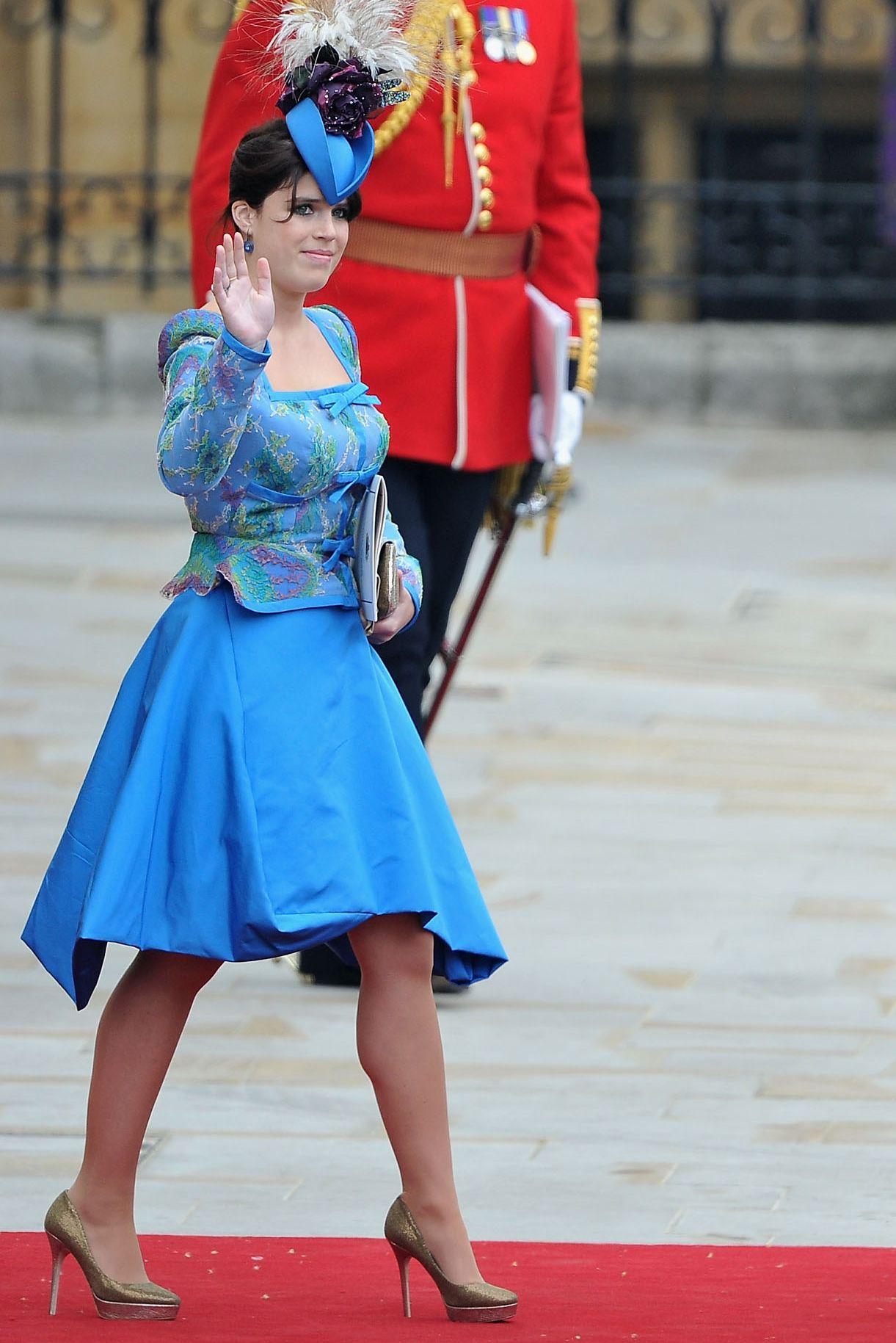 Princess Eugenie and Princess Beatrice Royal Wedding 2011