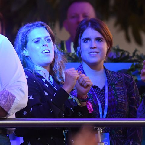 Princess Eugenie, Princess Beatrice, and Edoardo Mapelli Mozzi Went to a Céline Dion Concert