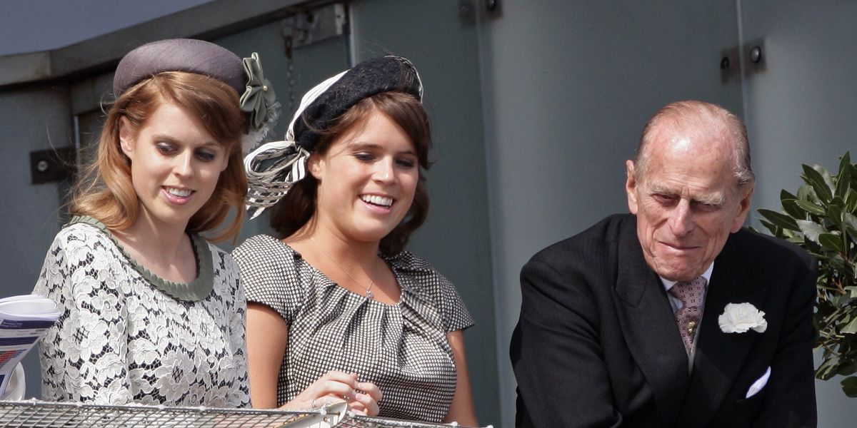 Princess Eugenie Opens Up About an Emotional Moment Between Prince Philip and Her Baby August