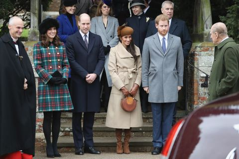 William and Kate on Christmas Day