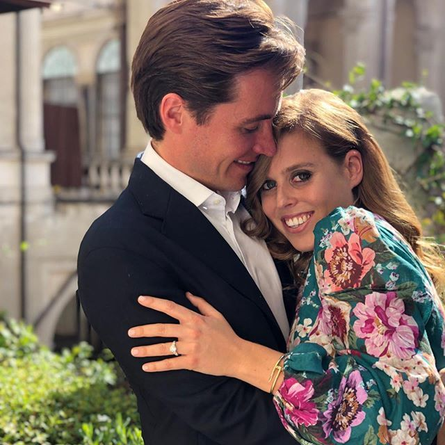 princess beatrice's new husband has posted the most romantic tribute to her