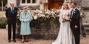 Princess Beatrice S Wedding Paid Tribute To Queen Elizabeth