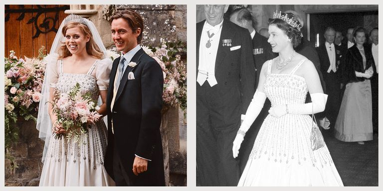 Princess Beatrice S Decision To Borrow Queen Elizabeth S Gown