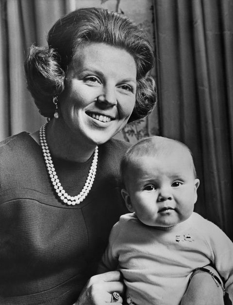 crown princess and son