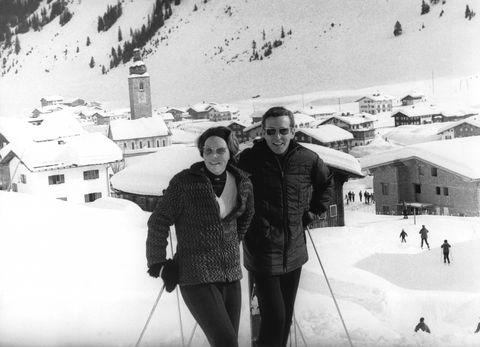 princess beatrix on skiing holiday