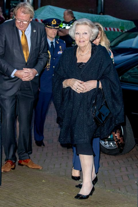 princess mabel and princess beatrix at prince friso award in delft