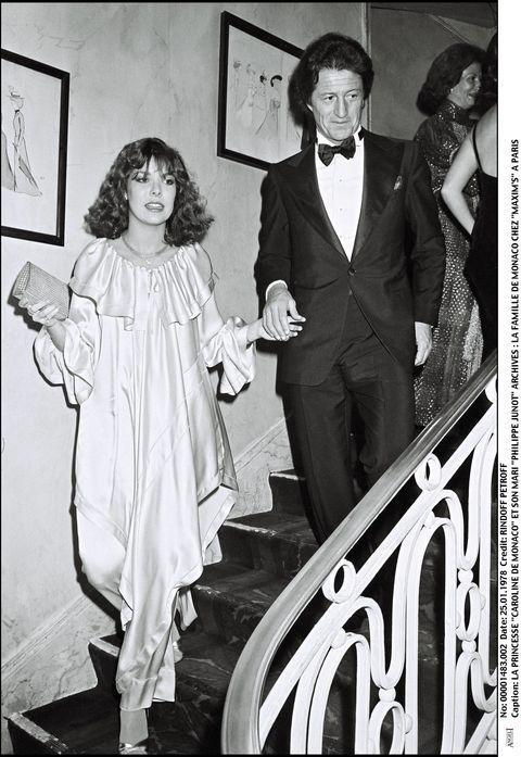 Monaco Royals At Maxim's Party In 1978