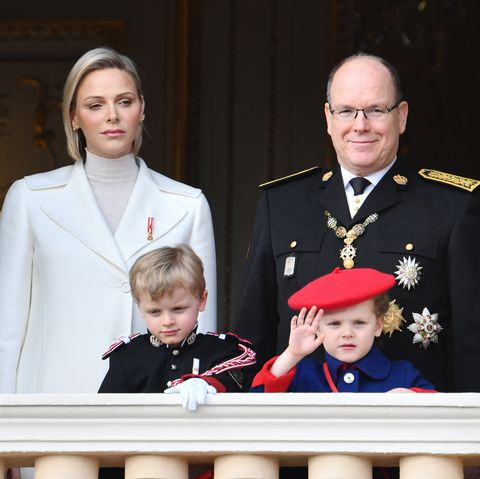prince albert princess charlene Monaco National Day 2019
