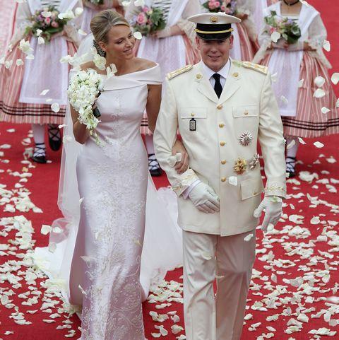 monaco royal wedding   the religious wedding ceremony