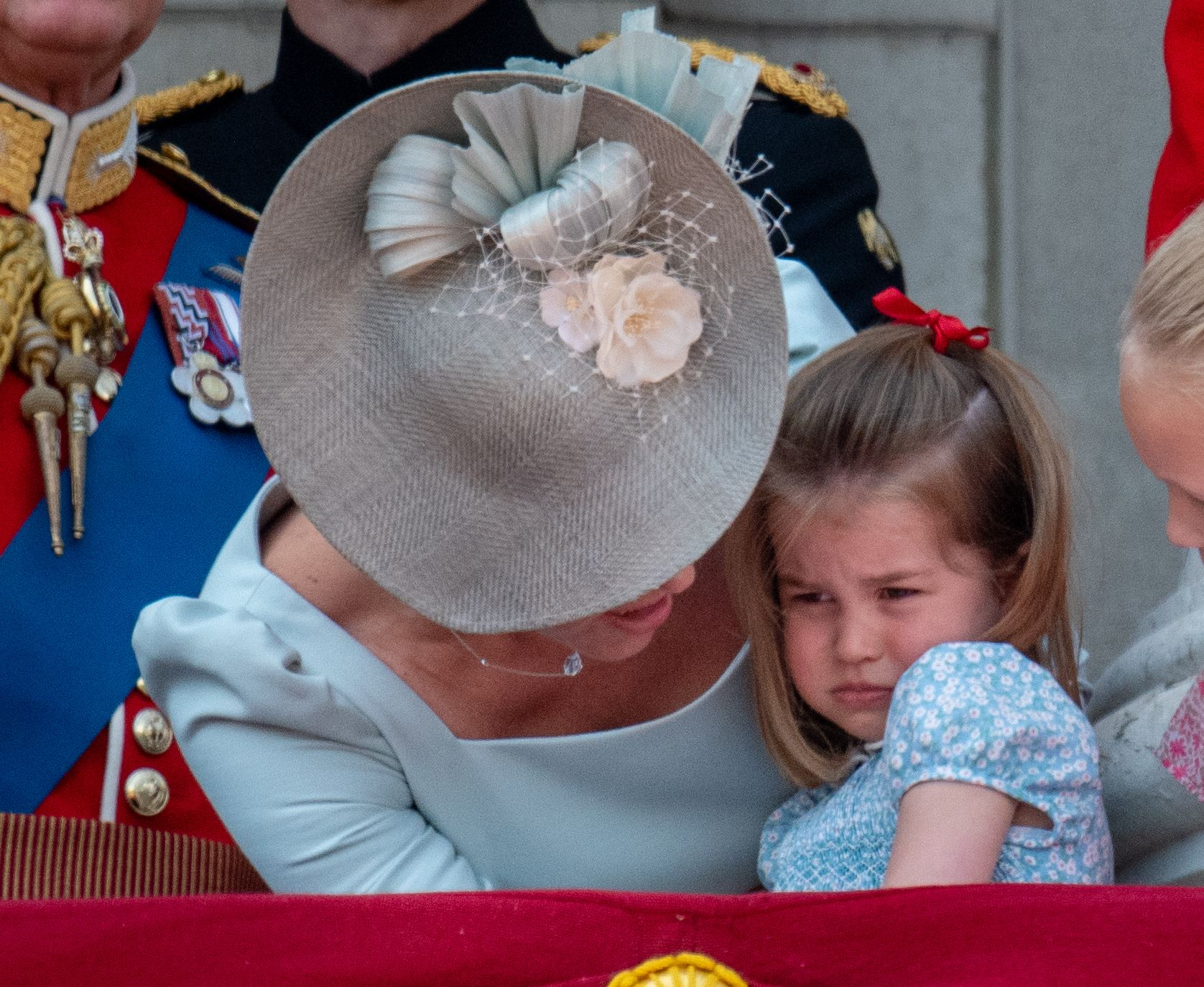 Princess Charlotte Had a Mini Meltdown at Trooping the Colour 2018