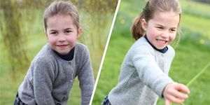 Princess Charlotte is FOUR today and the royal family shared some photos to celebrate