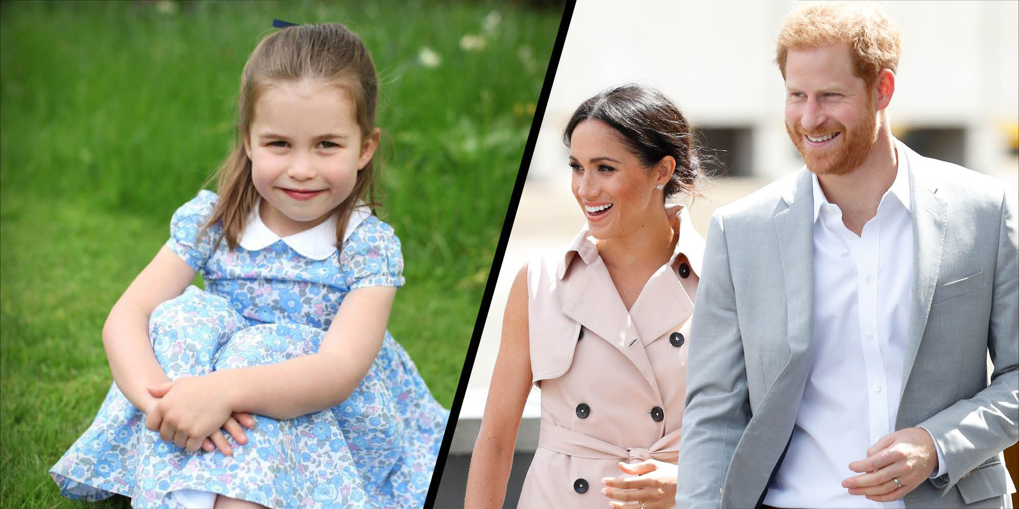 The Duke and Duchess of Sussex share a touching birthday message for Princess Charlotte