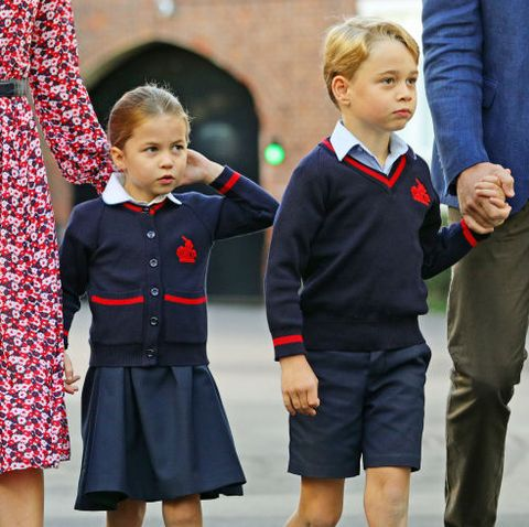 Princess Charlotte and Prince George's First Day Of School