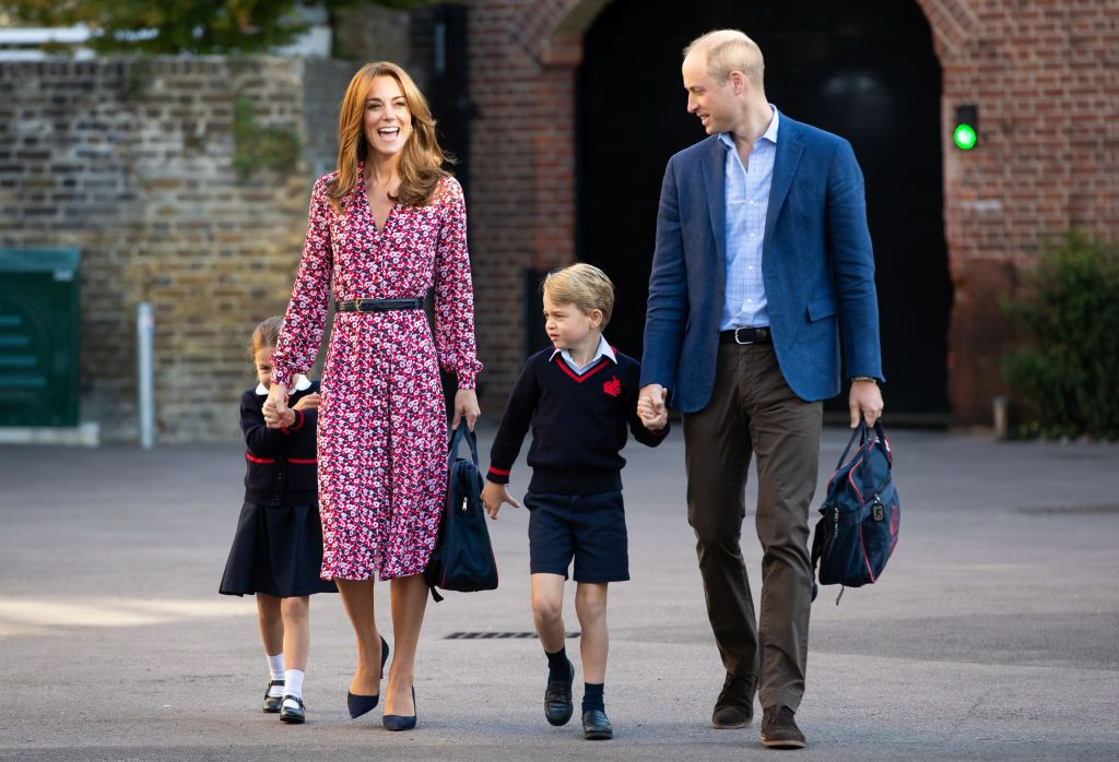 Kate Middleton Wore a Michael Kors Floral Dress to School Drop Off