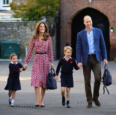 ウィリアム王子 キャサリン妃 ジョージ王子 シャーロット王女 ロイヤルファミリー