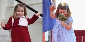 princess charlotte bows
