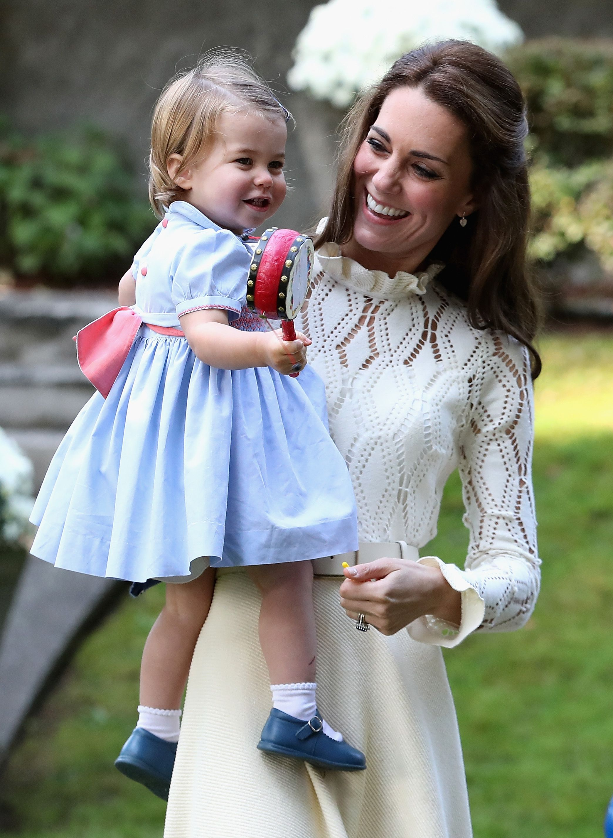 The adorable Princess Charlotte moment you may have missed at Prince Louis' christening