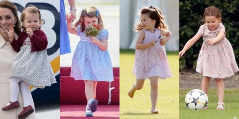 princess charlotte floral dress