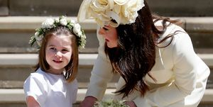 Princess Charlotte Duchess Catherine Royal Wedding 2018