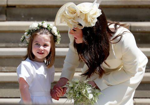 Princess Charlotte Duchess Catherine Royal Wedding 2018
